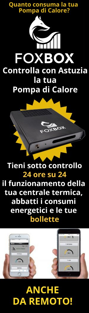 FOXBOX Controlla con astuzia la tua pompa di calore