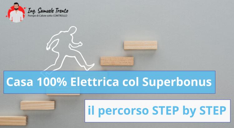 Casa 100% Elettrica col Superbonus: il percorso STEP by STEP I 14 passi che ti liberano dal riscaldamento a combustibile fossile